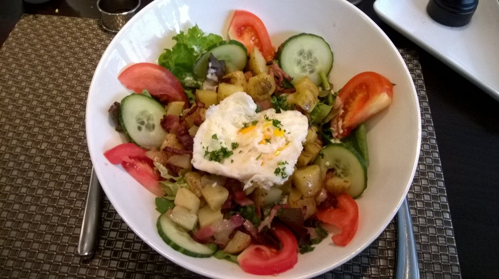 auberge de l'our - salads